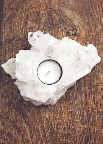 crystal quartz, a healing home, crystal decor, home decor