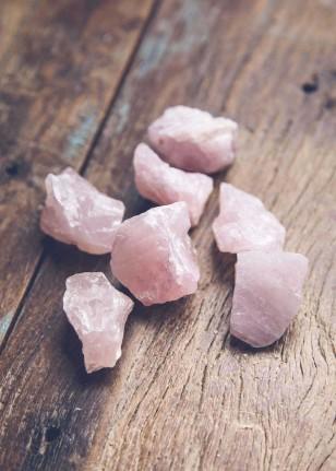 rose quartz, a healing home, crystal decor, home decor