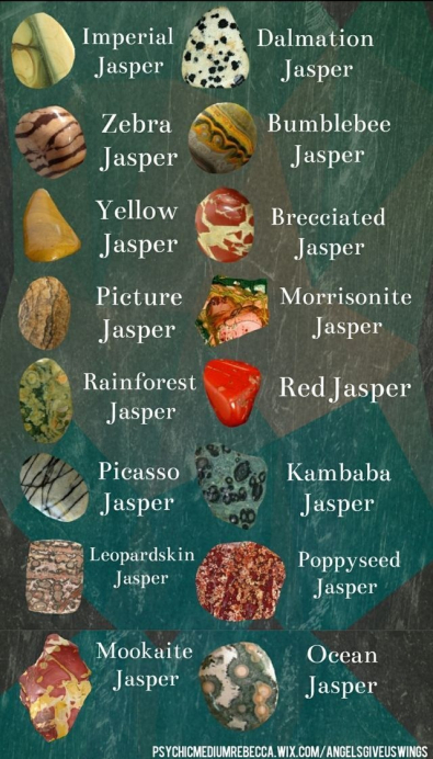 Varities of Jasper stones